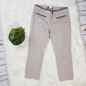 Anthropologie Cartonnier Charlie Ankle Pants 10P
